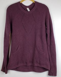 Lululemon The Sweater The Better Burgundy